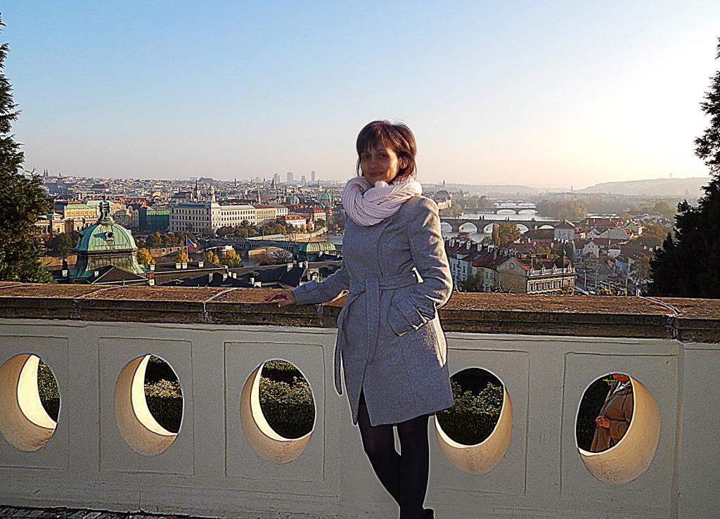 Ели Мандажиева в Прага